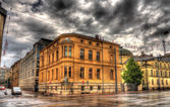 Buildings in Augsburg - Germany, Bavaria — Stock Photo
