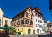Fachwerk houses in the city center of Konstanz, Germany — Stock Photo