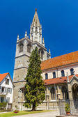 Belfry of Konstanz Minster - Germany, Baden-Wurttemberg — Stock Photo