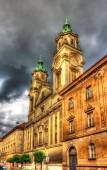 Basilica of the Sacred Heart of Jesus in Zagreb — Stok fotoğraf