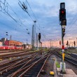 Railway station Frankfurt am Main - Germany, Hesse — Stock Photo #57586215