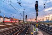 Railway station Frankfurt am Main - Germany, Hesse — Stockfoto
