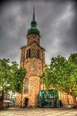 Petrikirche (St. Peter church) in Dortmund, Germany — Stock Photo