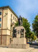 Vytautas velký pomník v Kaunasu, Litva — Stock fotografie