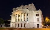 латвийская национальная опера в риге — Стоковое фото