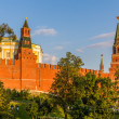 Towers and walls of Moscow Kremlin, Russia — Stock Photo #57607731