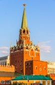Trinity Tower of Moscow Kremlin - Russia — Stock Photo