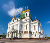 Cathédrale du christ sauveur de moscou, russie — Photo