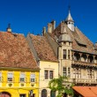 Traditional house in Sighisoara, Romania — Stock Photo #57649557