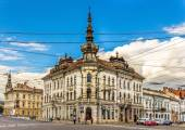 Palace of Babos in Cluj-Napoca - Romania — Stock Photo