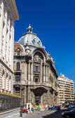 Palatul Camerei de Comert si Industrie in Bucharest — Stock Photo