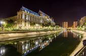 Palace of Justice in Bucharest, Romania — Stock Photo