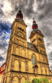 Liebfrauenkirche, a church in Koblenz, Germany — Stock Photo