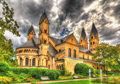 Basilica of St. Castor in Coblenz, Germany — Stock Photo