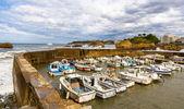 Puerto viejo de Biarritz - Francia, Aquitania — Foto de Stock