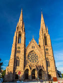 St Paul's church in Strasbourg - Alsace, France — Stock Photo