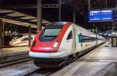 BASEL, SWITZERLAND - NOVEMBER 03: SRABDe 500, a Swiss tilting hi — Stock Photo