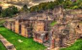 Archaeological Site of Fourviere in Lyon, France  — Stock Photo