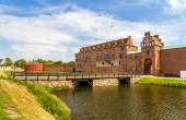 Walls of Malmo castle in Sweden — Stock Photo