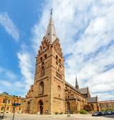 Vista de la Catedral de St. Petri en Malmo, Suecia — Foto de Stock