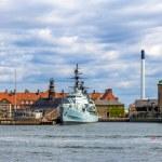 Holmen naval base in Copenhagen - Denmark — Stock Photo #65725475