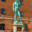 Copy of Michelangelo's David statue in Copenhagen, Denmark — Stock Photo #65725729