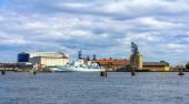 Holmen naval base in Copenhagen - Denmark — Stock Photo