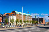 COPENHAGEN, DENMARK - MAY 29: View of the embankment of the Slot — Stock Photo
