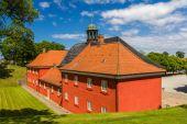 Barracks in Kastellet fortress, Copenhagen, Denmark — Stock Photo