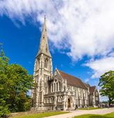 View of Sankt Albans Kirke in Copenhagen — Stock Photo