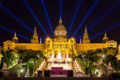 Museu nacional d'art de catalunya - barcelone, espagne — Photo