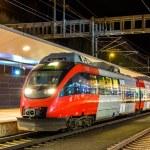 Rakouské místní železniční stanici Feldkirch — Stock fotografie #65736399
