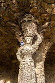 A statue in the Guell Park - Barcelona, Spain — Stock Photo