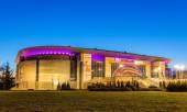 BELGRADE, SERBIA - DECEMBER 27: Kombank arena on December 27, 20 — Stock Photo