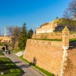 View of the Fortress in Kalemegdan Park - Belgrade, Serbia — Stock Photo #65802265