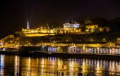 View of Belgrade Fortress over the Sava river - Serbia — Stock Photo
