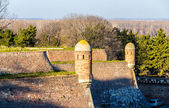 Defensive walls of Belgrade Fortress in Serbia — Stock Photo