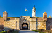 Entrance to the Belgrade Fortress - Serbia — Stock Photo