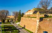 View of the Fortress in Kalemegdan Park - Belgrade, Serbia — Stock Photo