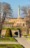 View of Kalemegdan Park in Belgrade - Serbia — Stock Photo