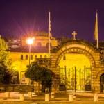 Entrance to the Hagia Sophia church in Thessaloniki, Greece — Stock Photo #65811675