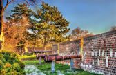 Ancient cannons at Belgrade Fortress - Serbia — Stock Photo