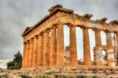 Details of Parthenon in Athens - Greece — Stock Photo