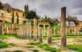 The Library of Hadrian in Athens - Greece — Stock Photo