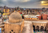View of Cairo from roof of Amir al-Maridani mosque - Egypt — Stock Photo