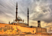 The great Mosque of Muhammad Ali Pasha in Cairo - Egypt — Stock Photo