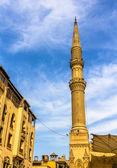 Minaret of the Al-Hussein Mosque in Cairo - Egypt — Zdjęcie stockowe