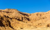 Landscape of the Valley of the Kings - Egypt — Stockfoto