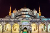 Sultan Ahmet Mosque (Blue Mosque) in Istanbul - Turkey — Stock Photo