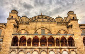 Facade of the Sultan Ahmet Mosque in Istanbul - Turkey — Stock Photo